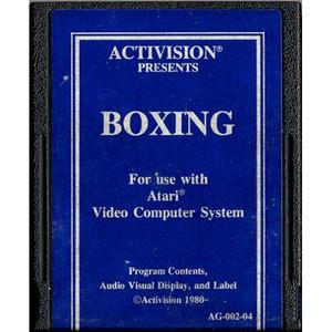Boxing (Blue Label) - Atari 2600 Game