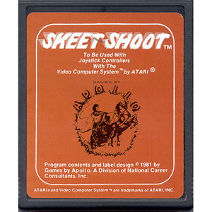 Skeet Shoot - Atari 2600 Game