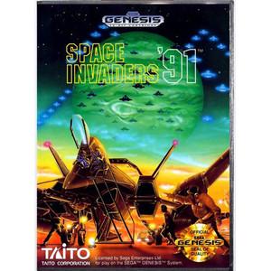 Space Invaders '91 - Genesis Game