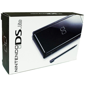 Complete Nintendo DS Lite Black System in Box