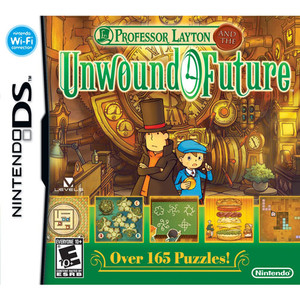 Professor Layton and the Unwound Future - DS Game