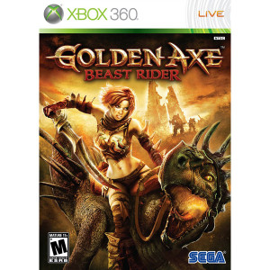 Golden Axe Beast Rider - Xbox 360 Game