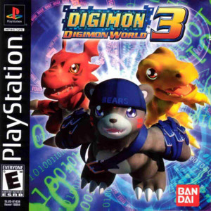 Digimon World 3 - PS1 Game