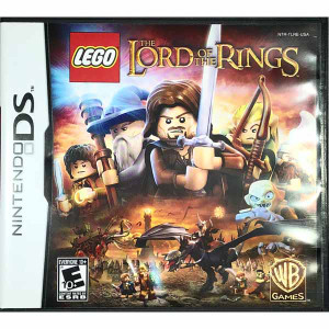 Lego Lord of the Rings Nintendo DS game for sale.