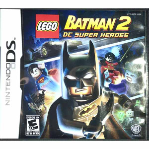 Lego Batman 2 DC Super Heroes Nintendo DS game for sale.