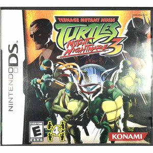 Teenage Mutant Ninja Turtles 3 Mutant Nightmare Nintendo DS for Sale