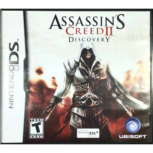 Assassin's Creed II Discovery Nintendo DS game for sale.