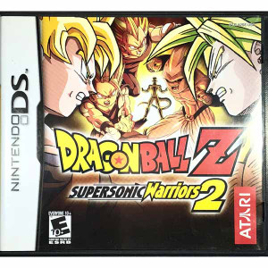 Dragon Ball Z Supersonic Warriors 2 Nintendo DS game for sale.