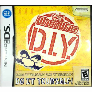 Wario Ware D.I.Y. Nintendo DS game for sale.