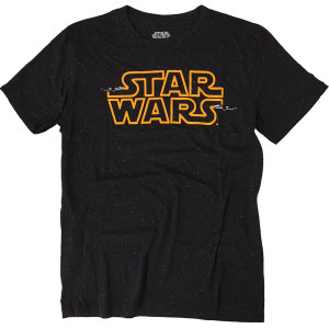 Star Wars Logo in Space - Officially Licensed T-Shirt
