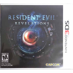 Resident Evil Revelations Nintendo 3ds game for sale.
