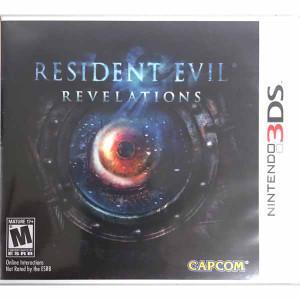 Resident Evil Revelations Nintendo 3ds game for sale.