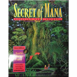 Secret of Mana Official Game Secrets Super Nintendo Strategy Guide for sale.