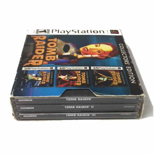Complete Tomb Raider Collectors Edition - PS1 Game Bundle