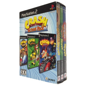 Complete Crash Bandicoot Action Pack - PS2 Game Bundle