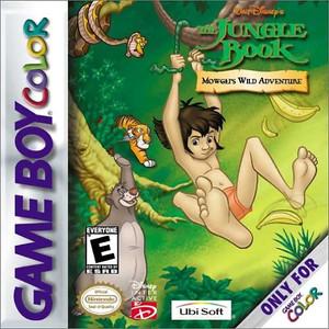 Jungle Book Mowgli's Wild Adventure - Game Boy Color Game