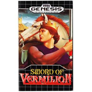 Sword of Vermilion Hintbook - Genesis Manual