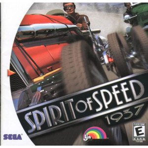 Complete Spirit of Speed 1937 - Dreamcast Game