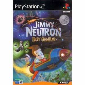 Jimmy Neutron Boy Genius - PS2 Game