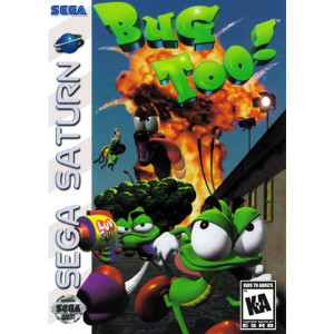 Bug Too! - Saturn Game