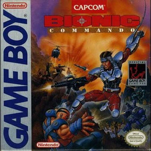 Bionic Commando - Game Boy Game