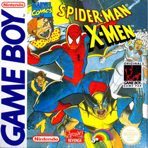 Spider-man X-men - Game Boy Game