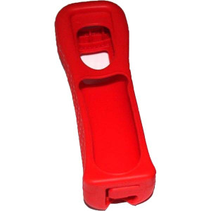 Red Wii Remote Controller Silicone Skin Case - Wii