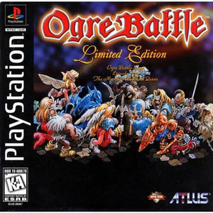 Ogre Battle Limited Edition - PS1 Game