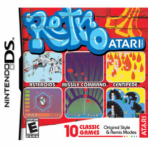 Retro Atari DS game