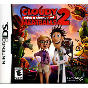 Cloudy With A Chance Of Meatballs 2 DS Game