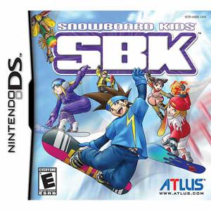 Snowboard Kids DS Game