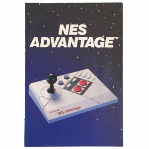 NES Advantage Controller - NES Manual
