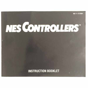 NES Controllers - NES Manual