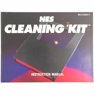 NES Cleaning Kit - NES Manual