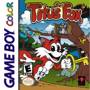 Titus the Fox - Game Boy Color Game