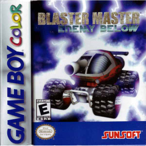 Blaster Master Enemy Below - Game Boy Color Game