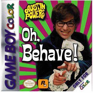 Austin Powers Oh Behave! - Game Boy Color Game