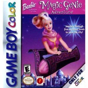 Barbie Magic Genie Adventure - Game Boy Color Game
