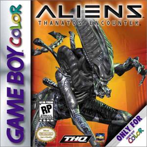 Aliens Thanatos Encounter - Game Boy Color Game
