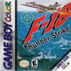F-18 Thunder Strike - Game Boy Color Game
