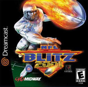 NFL Blitz 2001 - Dreamcast Game