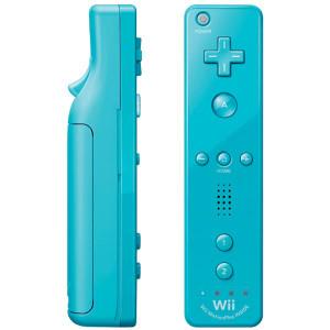 Original Blue Motion Plus Remote Controller - Wii