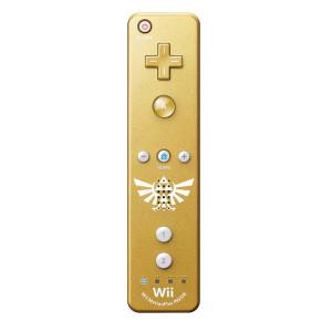 Original Gold Zelda Motion Plus Remote Controller - Wii