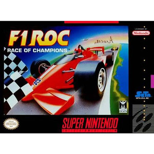 F1-ROC Race of Champions - SNES Game