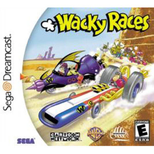 Wacky Races - Dreamcast Game