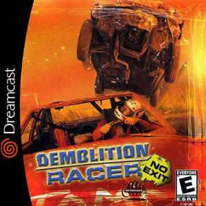 Demolition Racer No Exit - Dreamcast Game