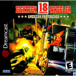 Eighteen Wheeler American Pro Trucker - Dreamcast Game