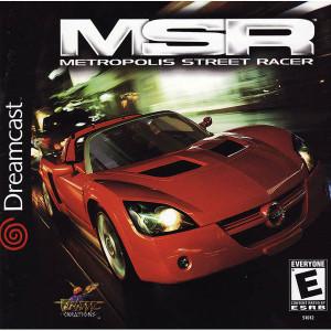 Metropolis Street Racer - Dreamcast Game