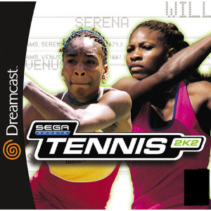 Tennis 2K2 - Dreamcast Game