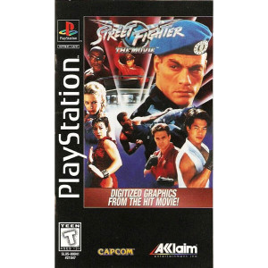 Street Fighter The Movie - PS1 Game